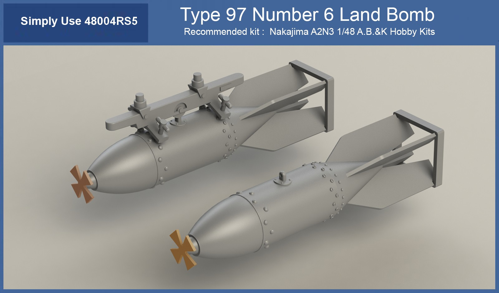 Type 97 Number 6 Land Bomb 1/48