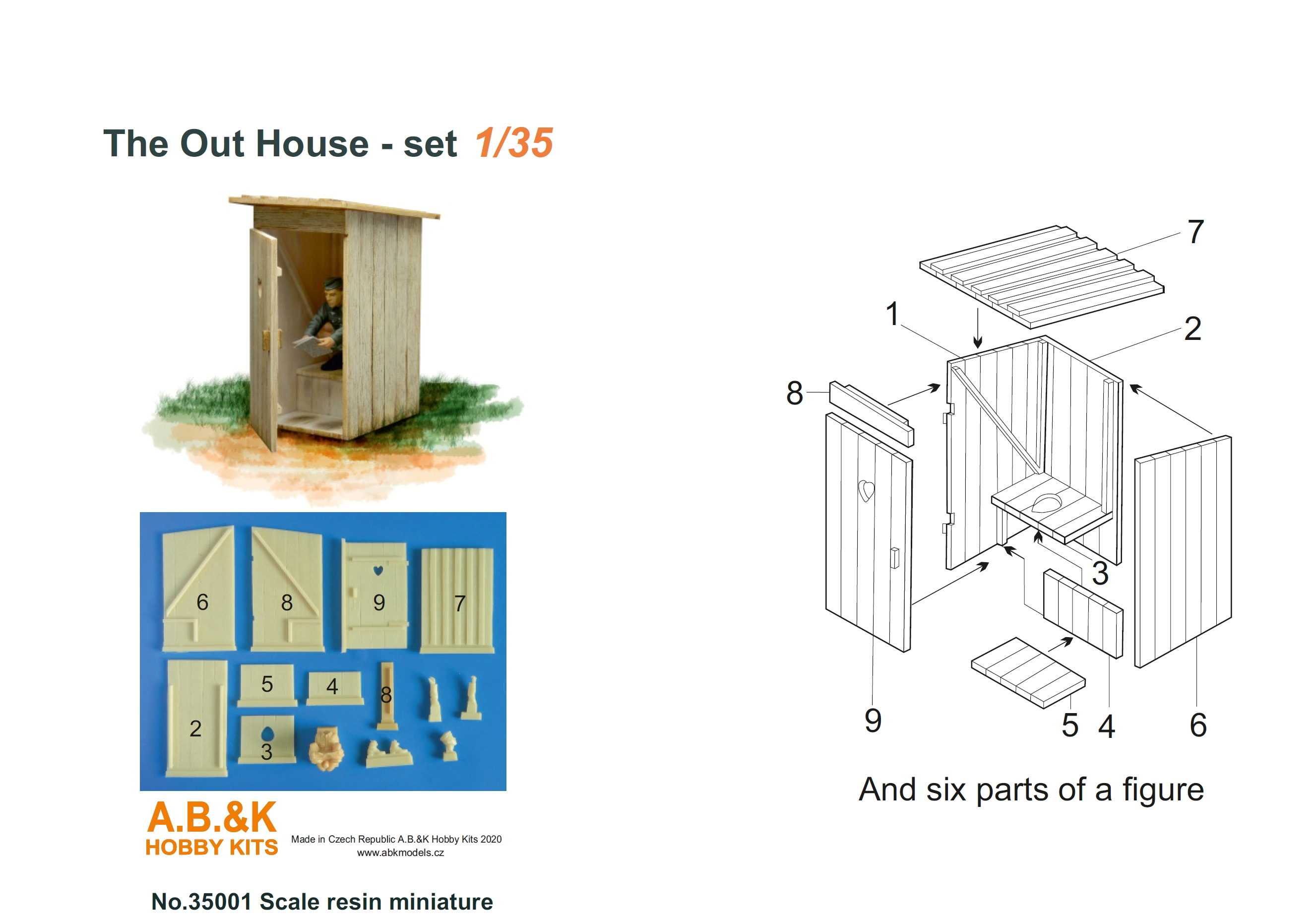 The Out House - set 1/35