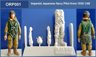 Imperial Japanese Navy Pilot from 1930 1/48