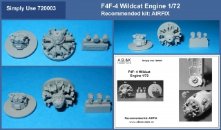 F4F-4 Wildcat engine 1/72